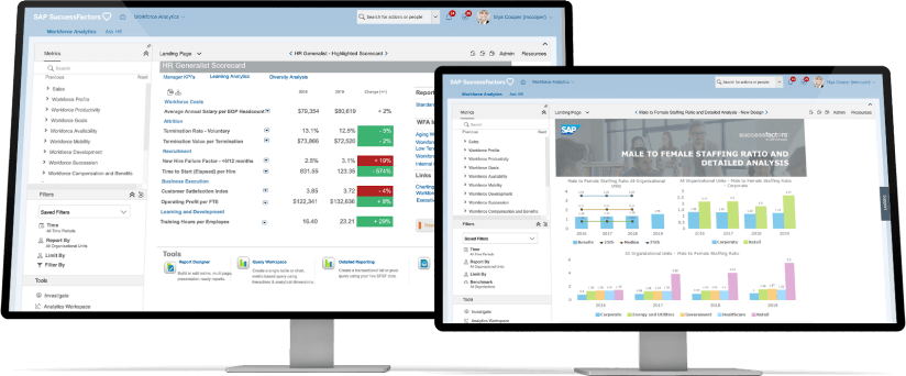 SAP SuccessFactors HCM Software Screenshot