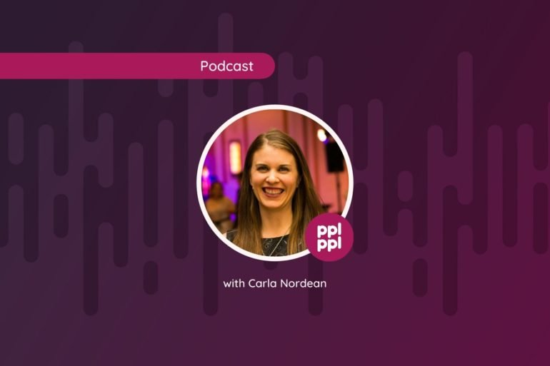 Photo of Carla Nordean People managing People podcast