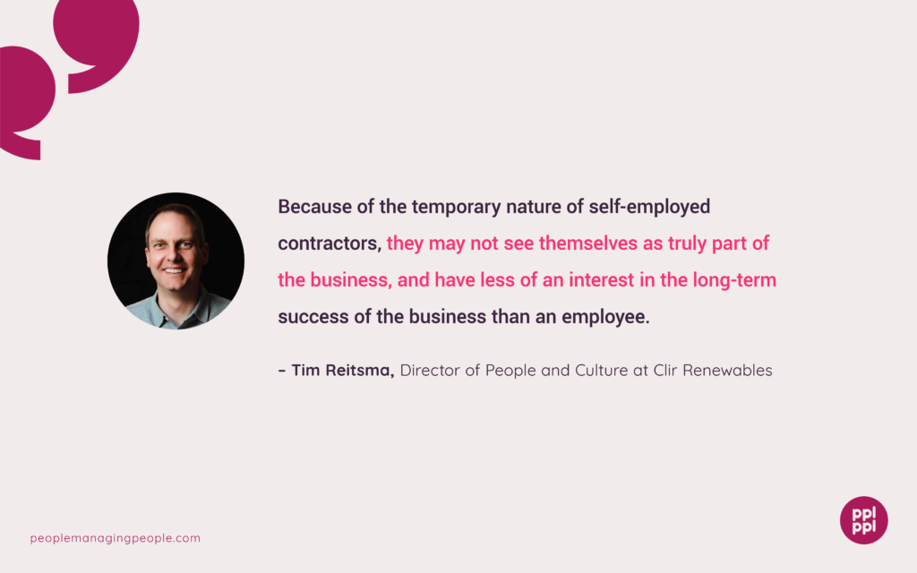 Graphics of Quote from Tim Reitsma