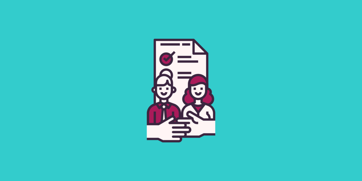 Graphics of Ultimate New Hire Checklist: 10 Steps to Start Onboarding