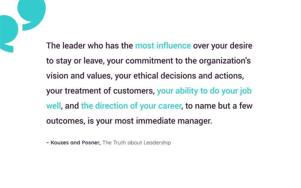 Quote Of Kouzes And Posner The Truth About Leadership