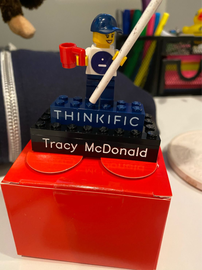 Photo Of Tracy McDonald's welcome package