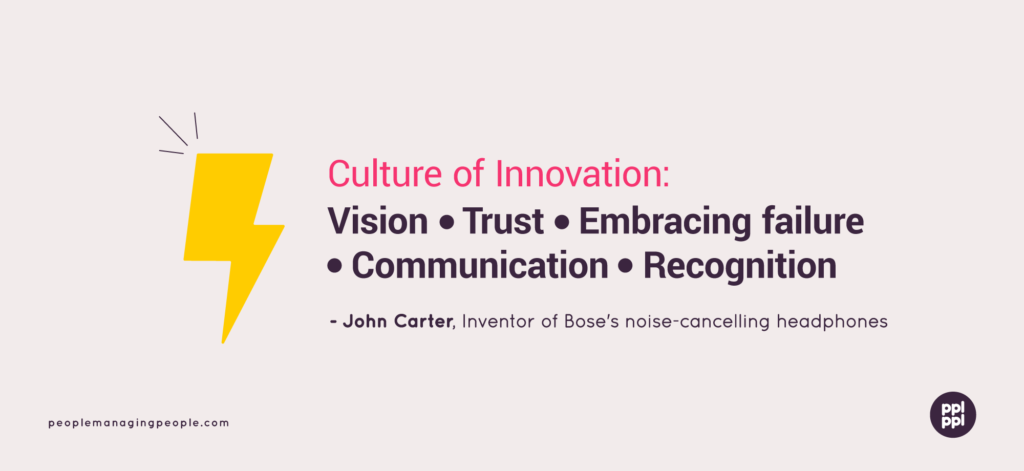John Carter Culture Of Innovation Graphic